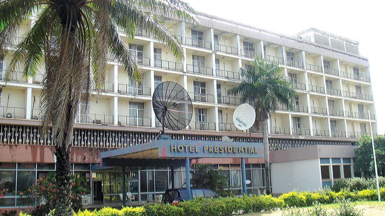 The Hotel Presidential, Enugu before the renovation work commenced