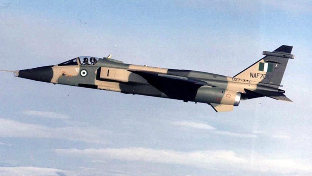 A Nigerian fighter jet