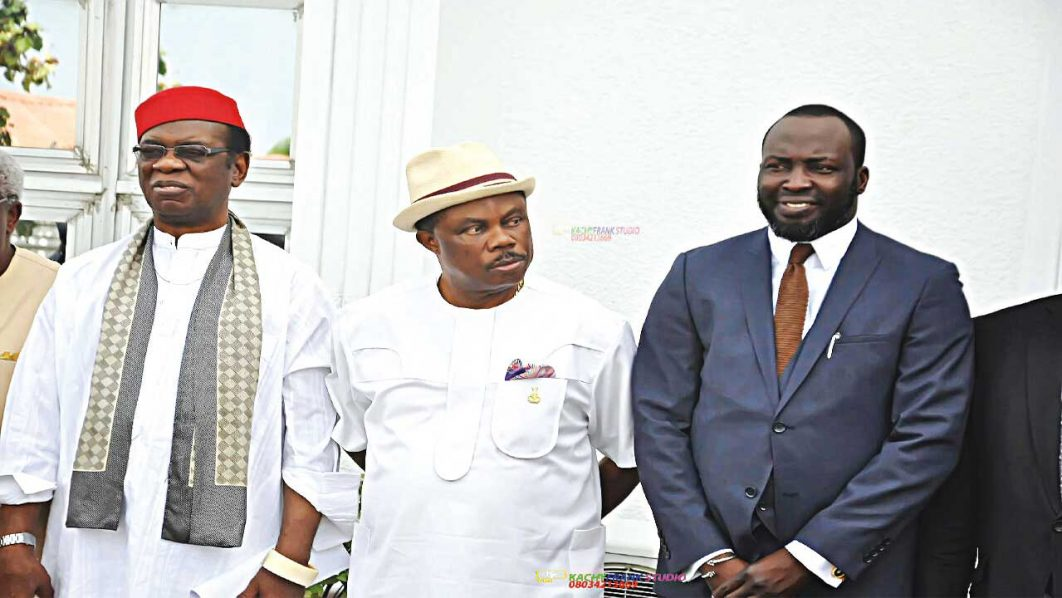 Chairman, ANSIPPA, Gov. Willie Obiano and Yahaya Maikori 1