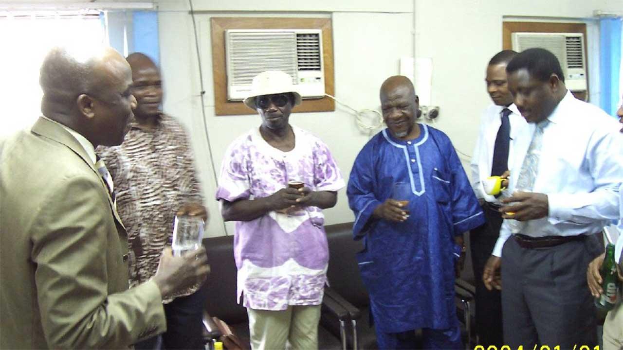 In The Guardian on the occasion of his 70th birthday. Emeka Izeze, Jahman Anikulapo, Odion Iruoje, Idonije, Banji Adisa and Debo Adesina