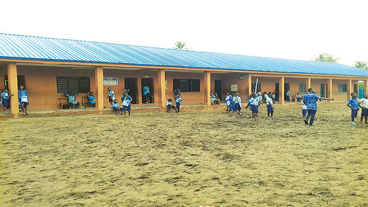 Tomaro Senior and Junior Secondary School Block,( the only secondary school on Tomaro-Onisiwo Island, Amuwo-Odofin Local Council).