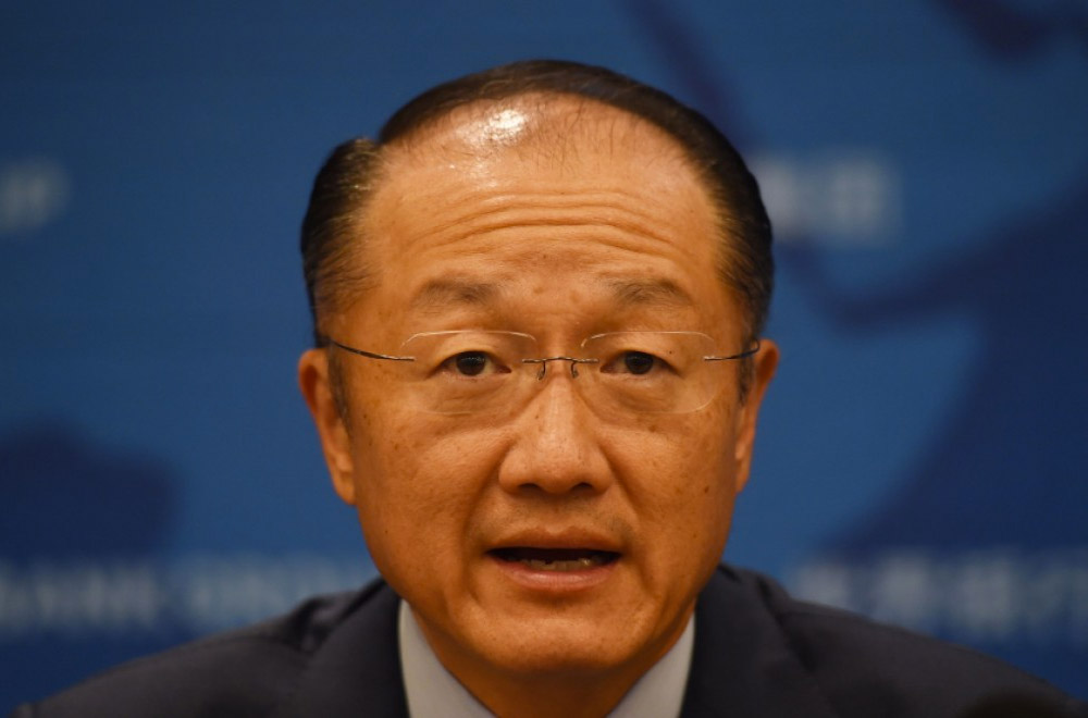 World Bank Chief Jim Yong Kim
