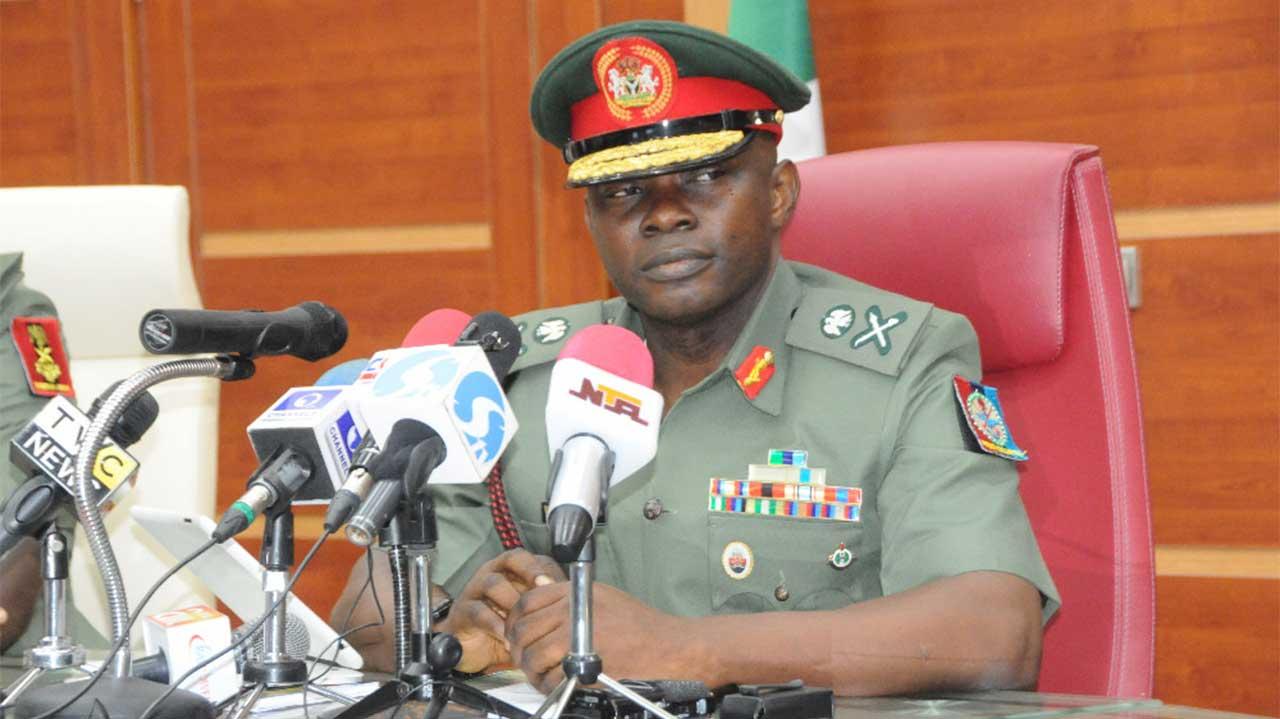 Chief of Defence Staff, Abayomi Olanisakin.