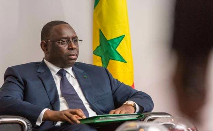 The ECOWAS Chairman, Macky Sall