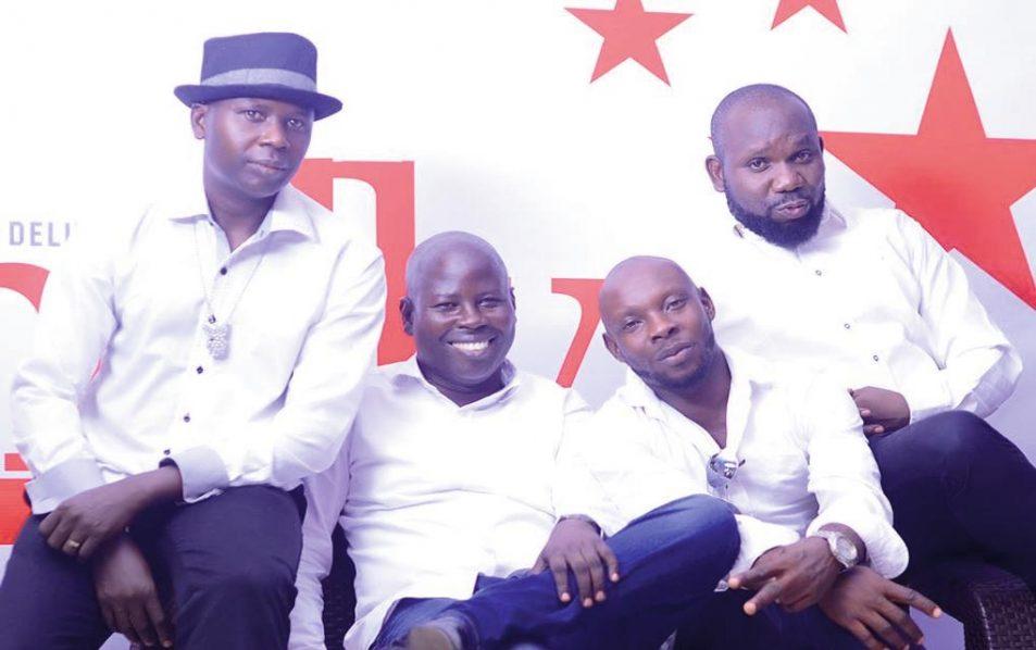 Kwitee (left), Yemi King, Femi G and Abey Sax