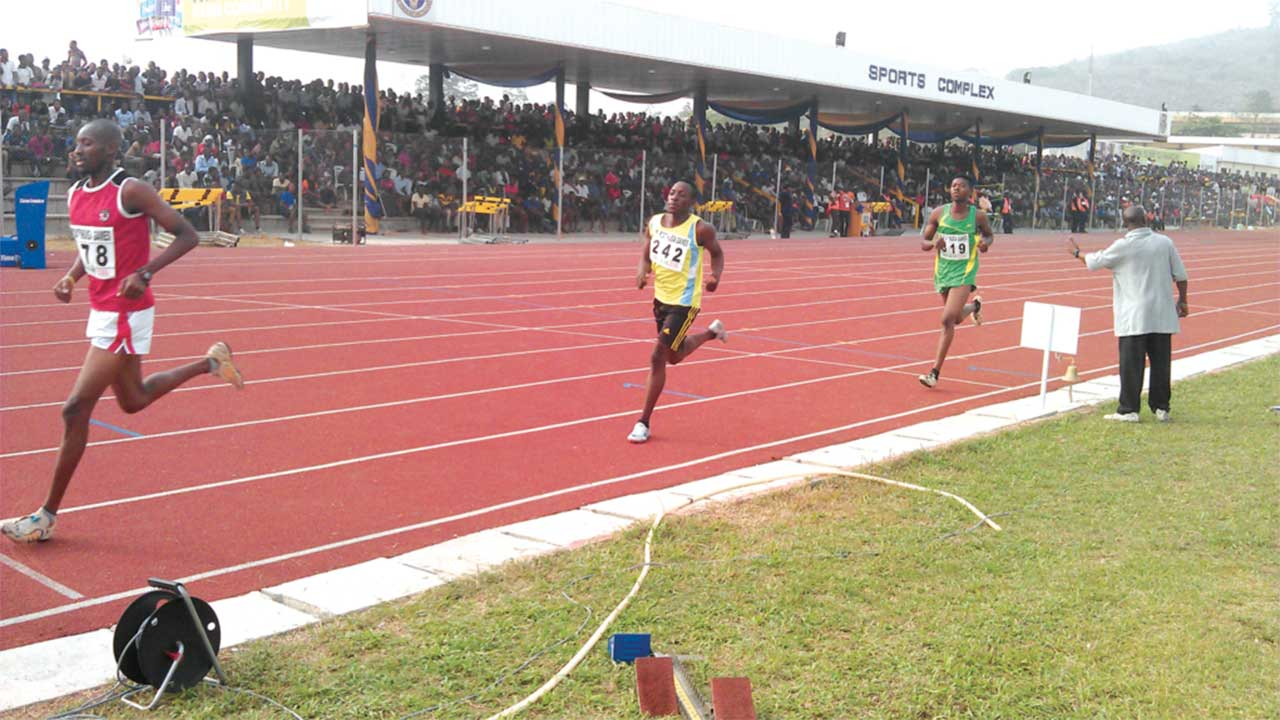 Athletes competing at the last NUGA Games