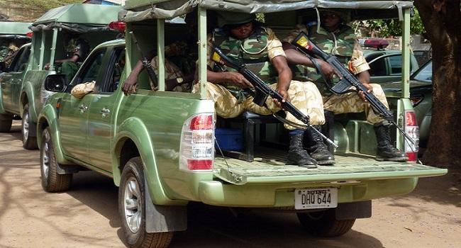 Nigeria Army. AFP PHOTO/SUSAN NJANJI
