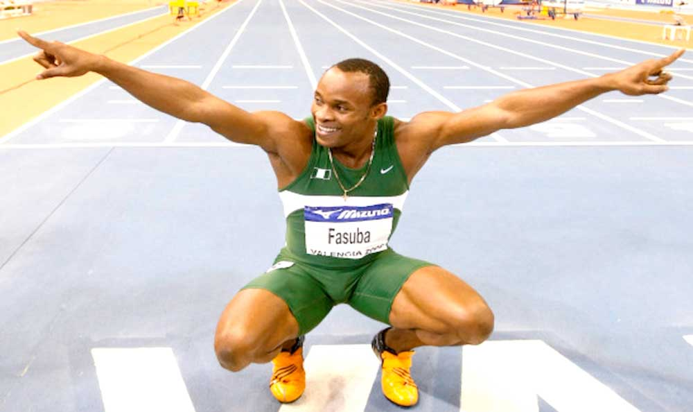 Fasuba... hit limelight as a student of Obafemi Awolowo University in 2003