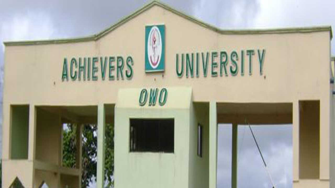 Achievers University, Owo Massive Academic Staff Recruitment
