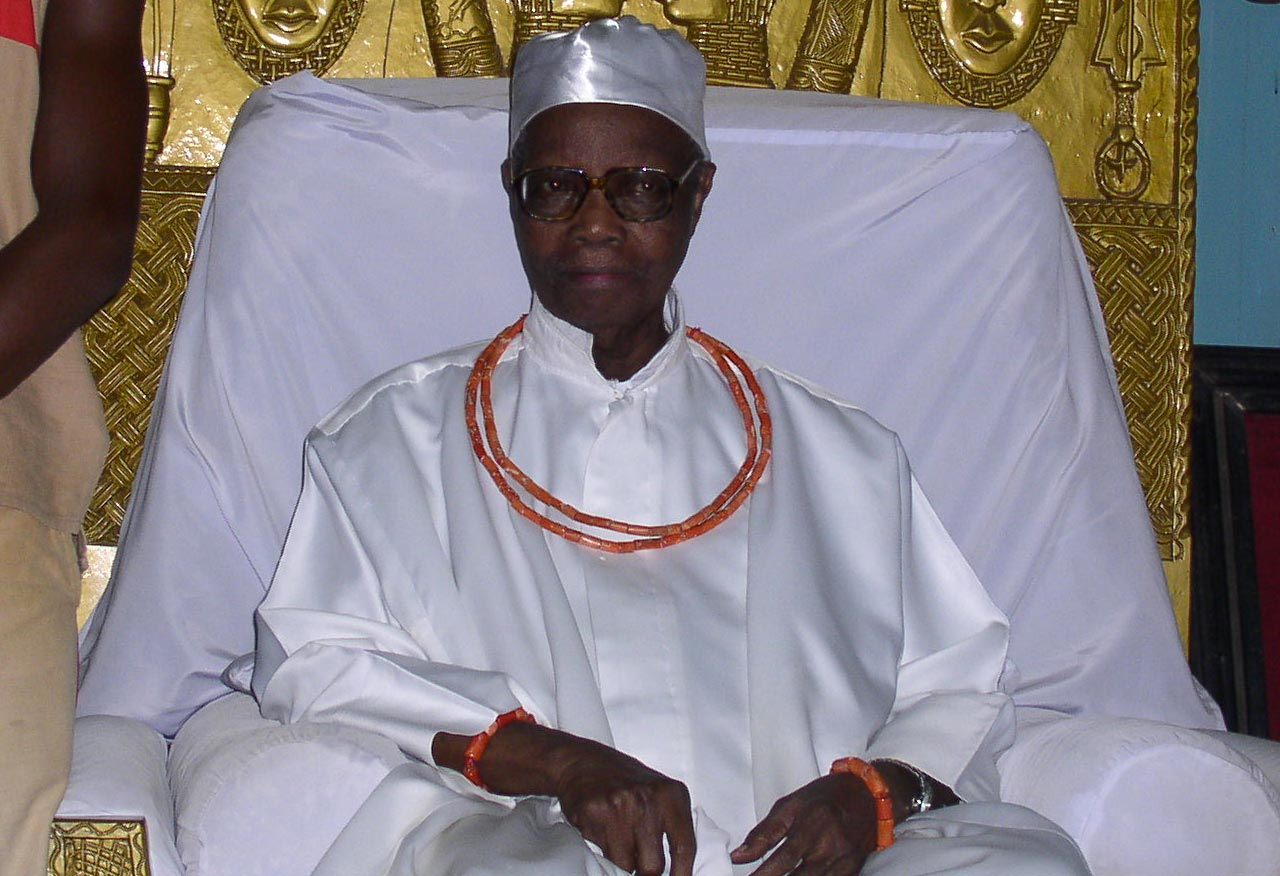 The late, Oba of Benin