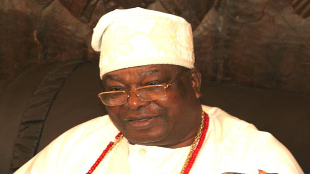 Oba Sikiru Kayode Adetona, Awujale of the Ijebu Kingdom.