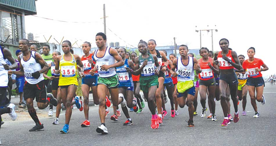 The Okpekpe International Road Race is expected to feature more foreign runners than the first Lagos City Marathon. PHOTO: FEMI ADEBESIN-KUTI.