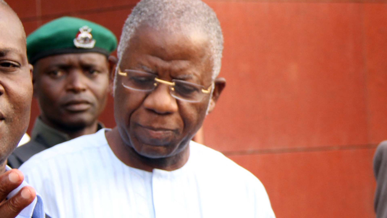 Former Head of Service of Federation, Stephen Oronsaye PHOTO: Ladidi Lucy Elukpo