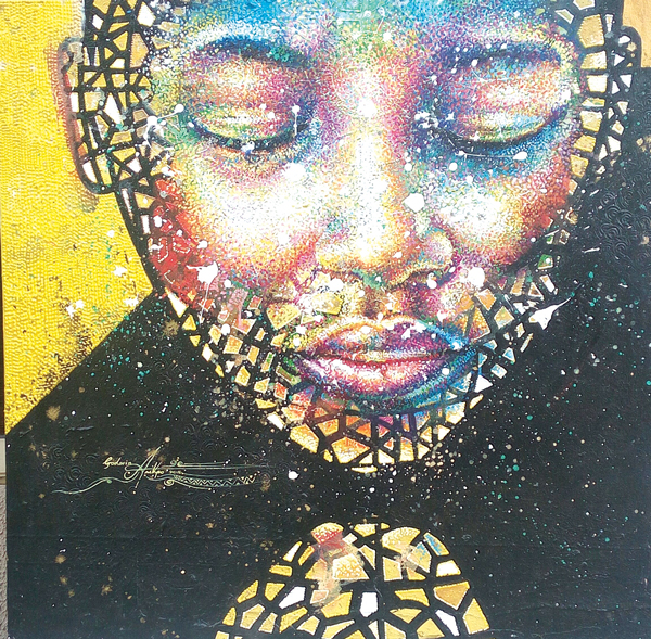 A painting by Godwin Arikpo