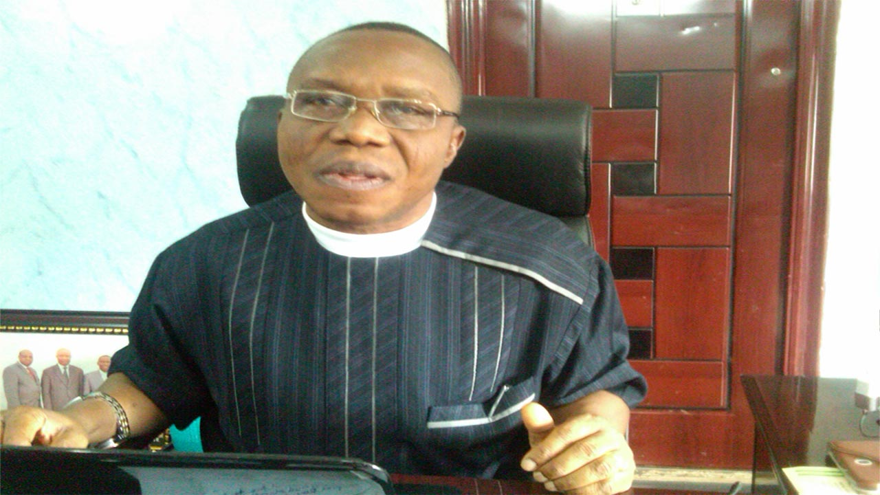 General Superintendent,GS,Assemblies of God's Church, Rev. Prof Paul Emeke,