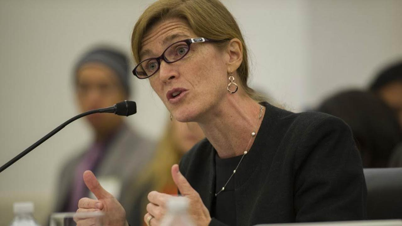 Amb. Samantha Power expressed hope in the future of the 24 freed abducted Chibok girls.