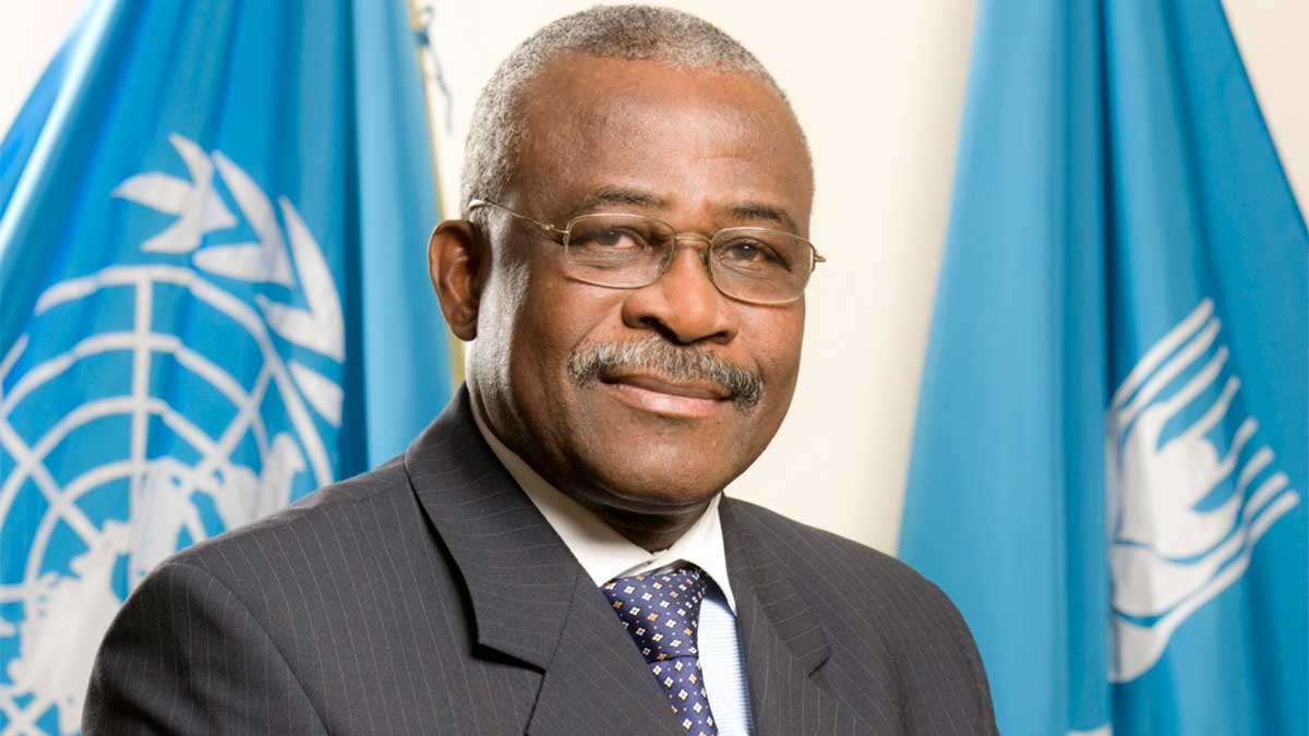 Prof. Nwanze Kanayo President of International Fund for Agricultural Development (IFAD)