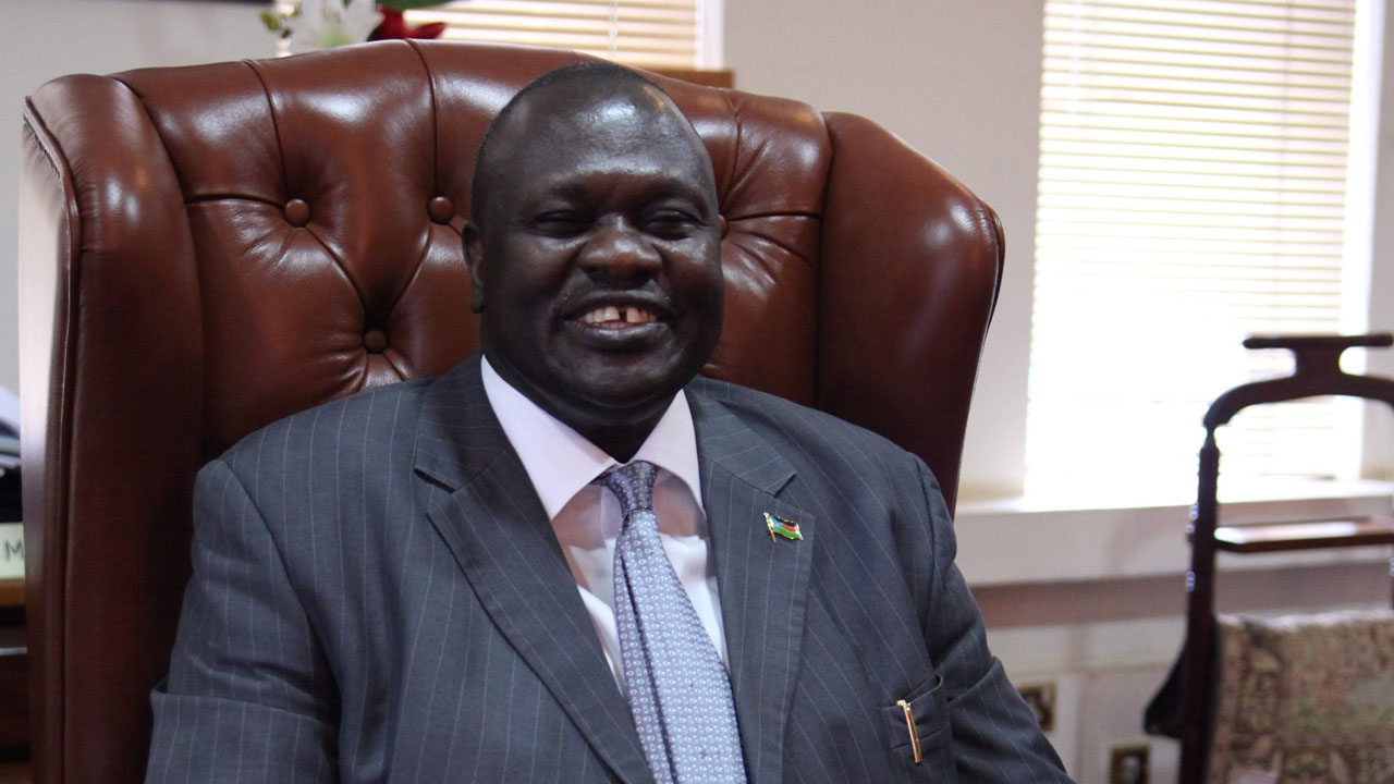 Riek Machar PHOTO:WIKIPEDIA