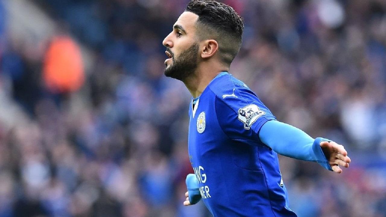 Leicester City's Algerian midfielder Riyad Mahrez  (AFP Photo/Ben Stansall)