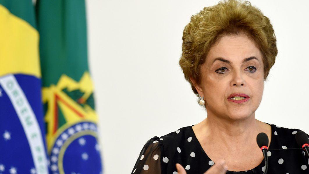 Brazilian President Dilma Rousseff .  / AFP PHOTO / EVARISTO SA