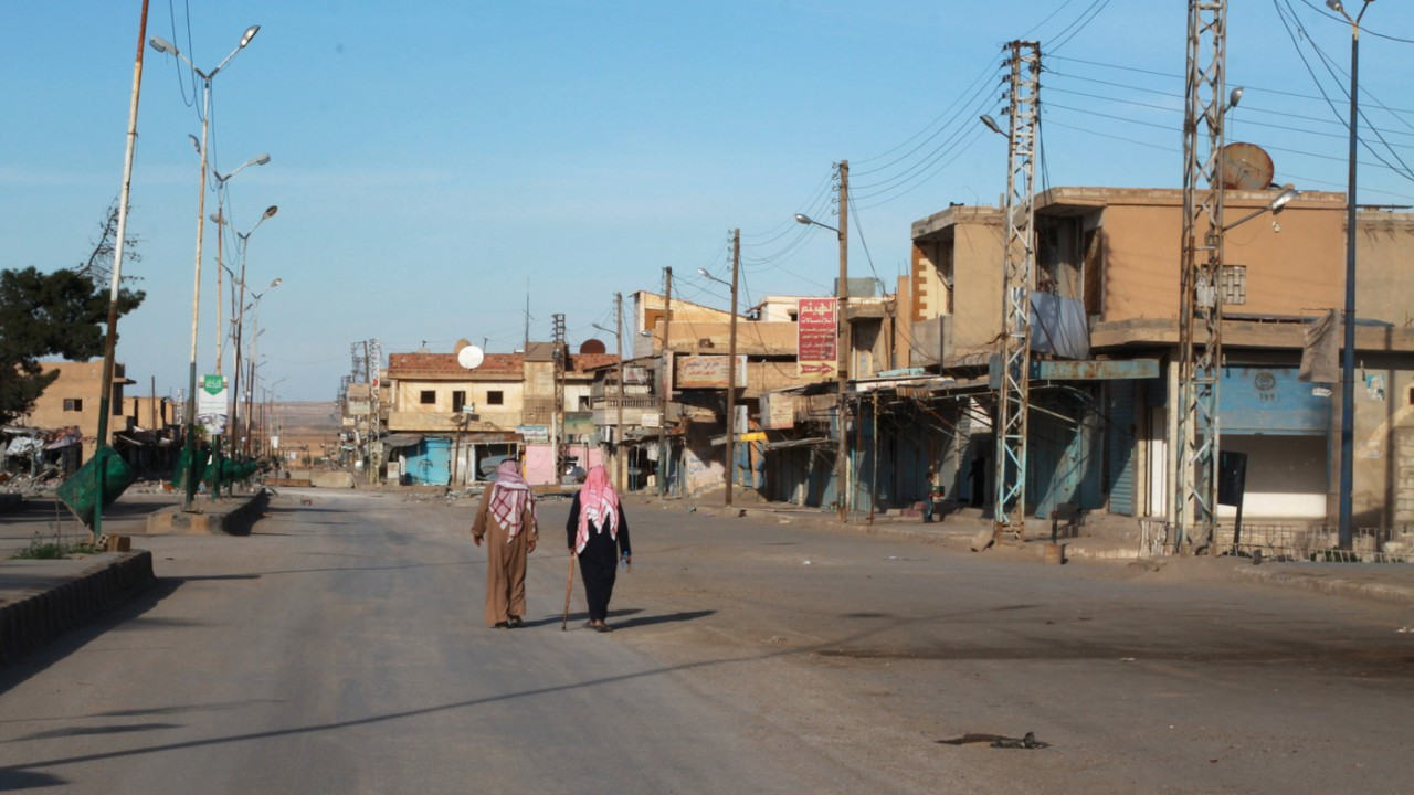 U.S.-backed forces recently pushed out the Islamic State in the northeastern Syrian town . They now face the challenge of running the town. So far, few have been allowed back, amid fears that ISIS infiltrators could return. PHOTO: npr.org