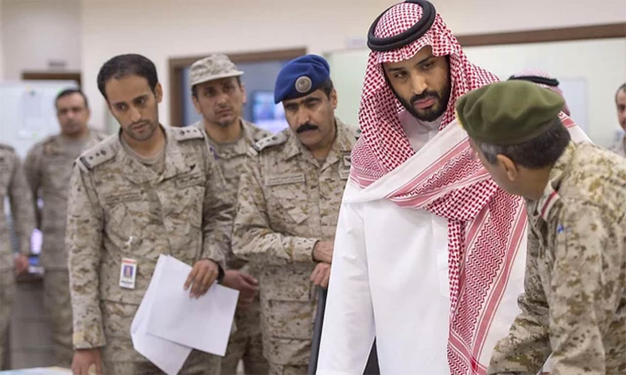 Saudi Crown Prince and Defence Minister Mohammed bin Salman