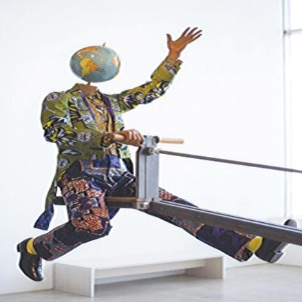 Part of a sculpture, Yinka Shonibare's End of Empire PHOTO: John PHILLIP