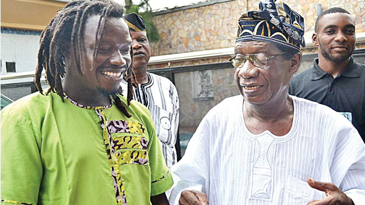 Edaoto (left) and Dele Ojo