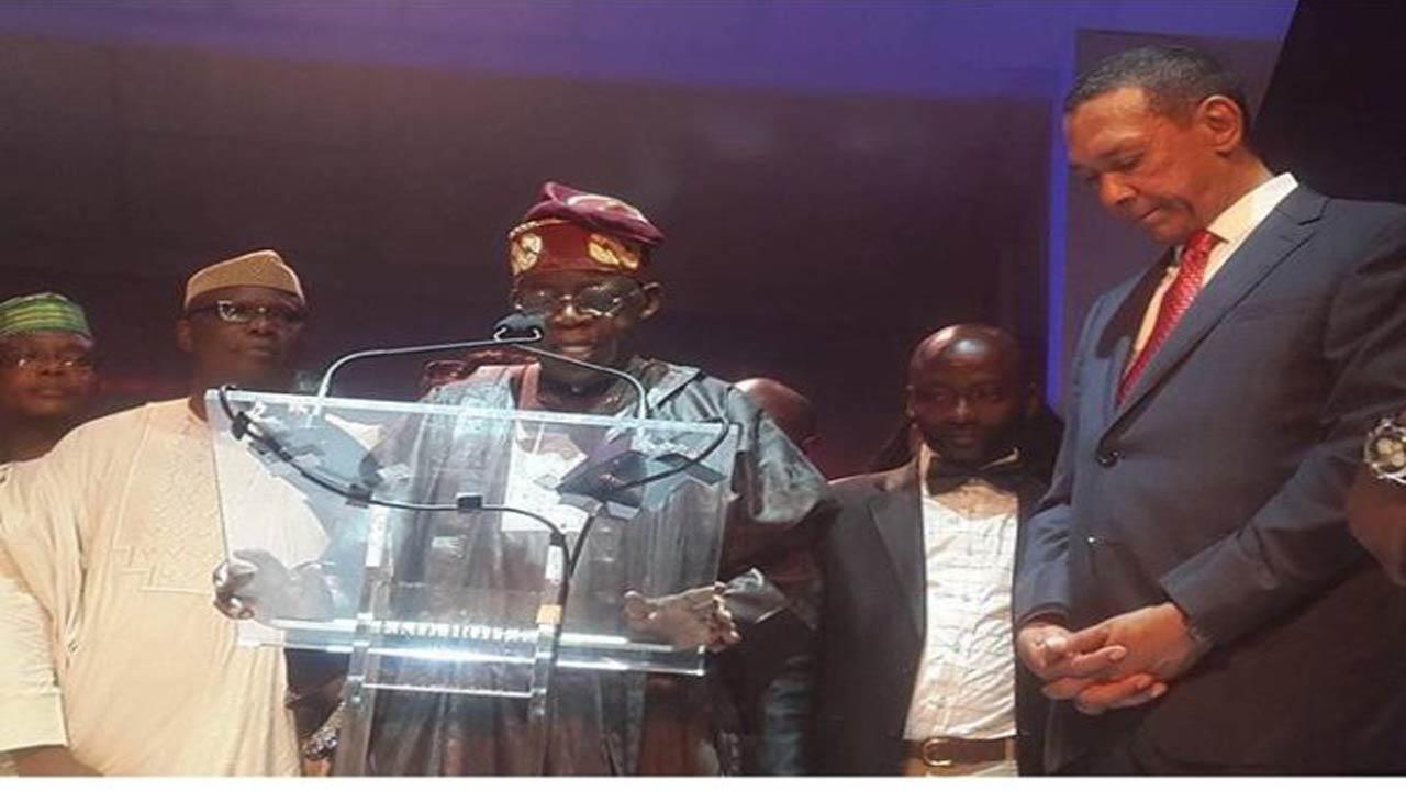 Asiwaju Bola Tinubu at the event in Lagos