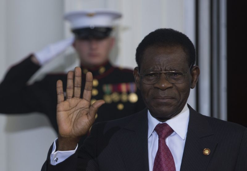 Equatorial Guinea President Teodoro Obiang Nguema seized power following a coup in 1979 (AFP Photo/Brendan Smialowski)