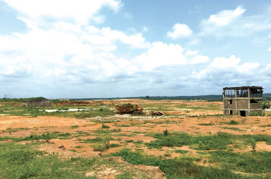Site of the uncompleted Osun Airport in Egbedore Local Council