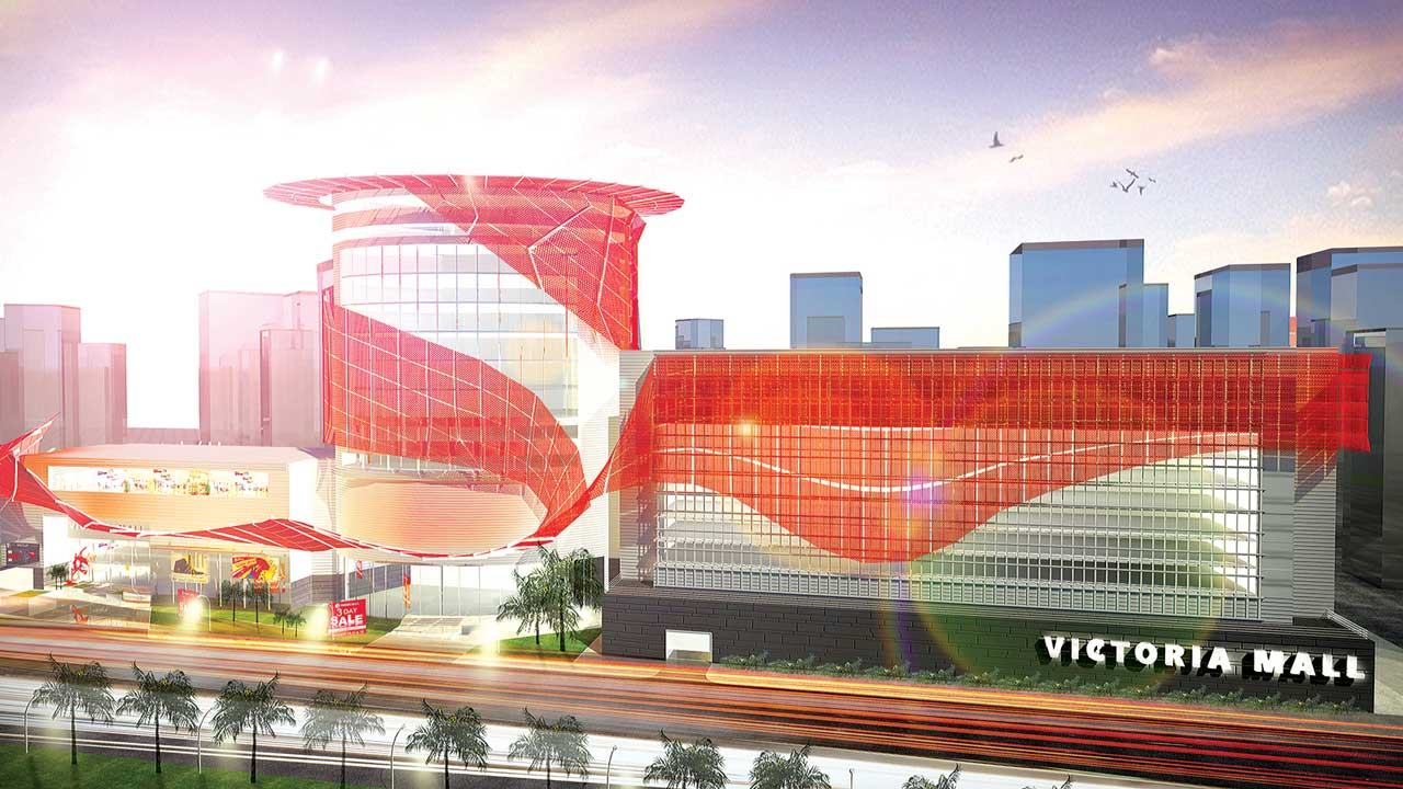 Illustration of the proposed UPDC Victoria Mall Plaza III, Victoria Island, Lagos