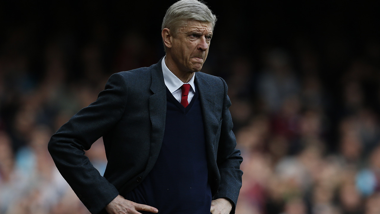Arsenal's French manager Arsene Wenger. / AFP PHOTO / Ian Kington