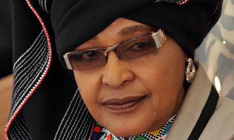 Winnie Madikizela-Mandela has in recent years inspired a novel and an opera as well as a movie. Photograph: Alexander Joe/AFP/Getty Image