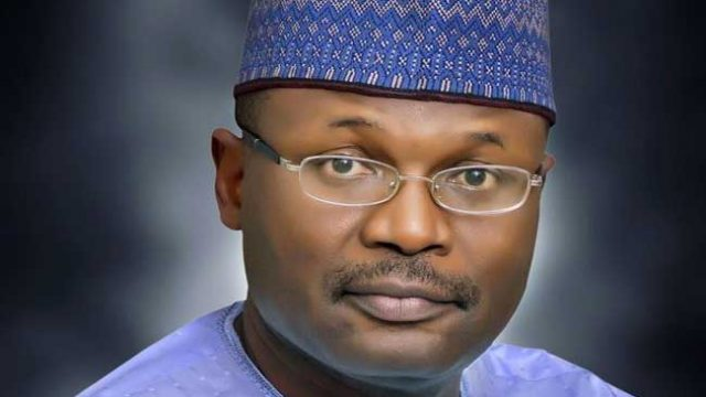 Professor Mahmood Yakubu. INEC Boss