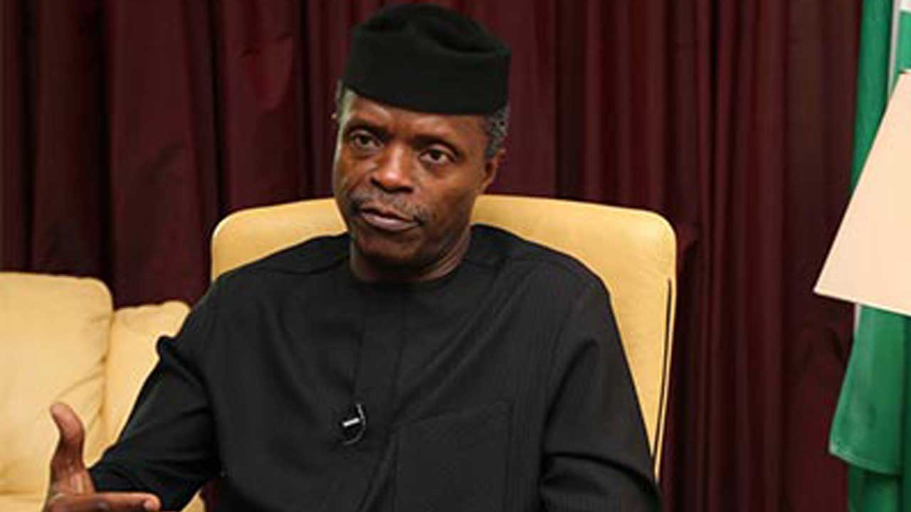 Prayer and Fasting Without Hard Work can not Prosper any Nation - Osinbajo