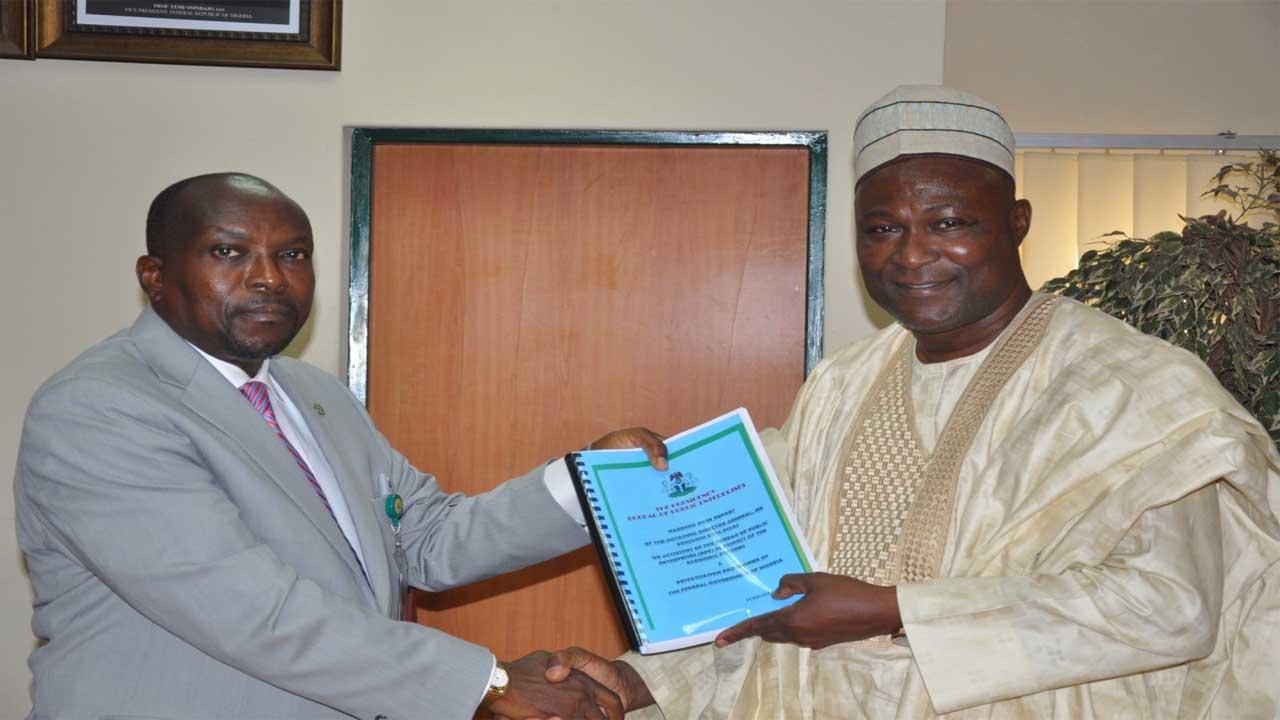 Left, Dr. Vincent Onome Akpotaire