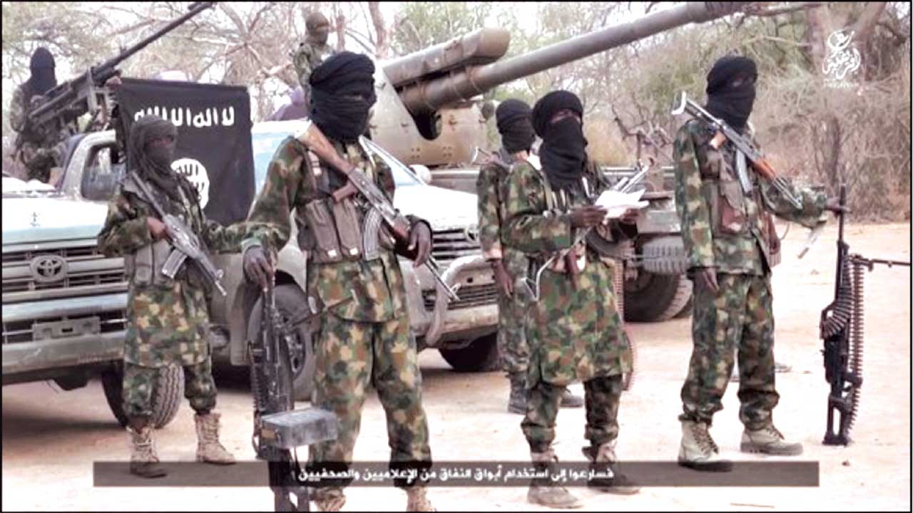Screenshot of latest Islamic State West Africa video released on March 31, 2016.