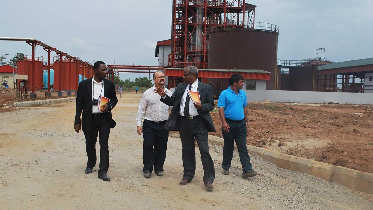 cassava ethanol factory