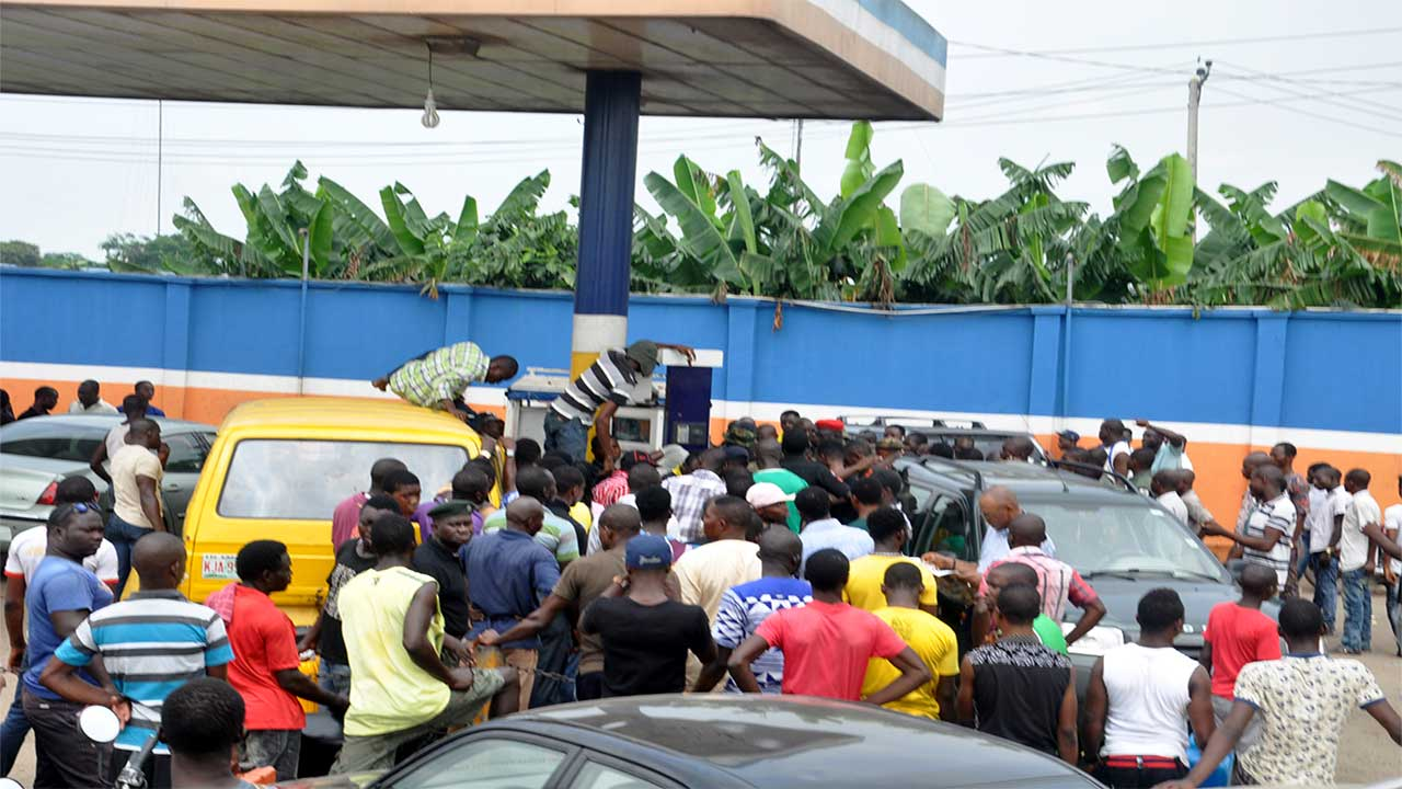 Image result for Fuel scarcity: Stop punishing Nigerians, PDP tells Buhari