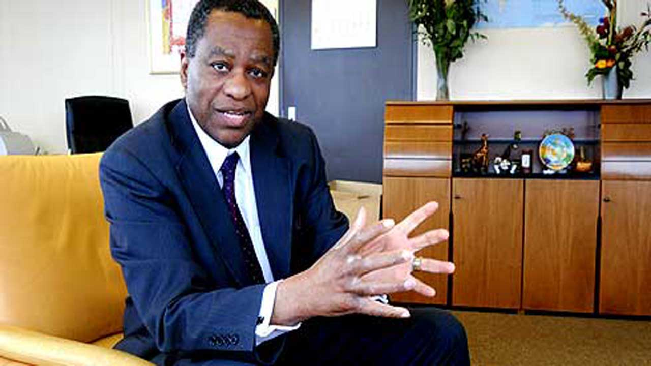 Geoffrey Onyeama, Minister of Foreign Affairs.