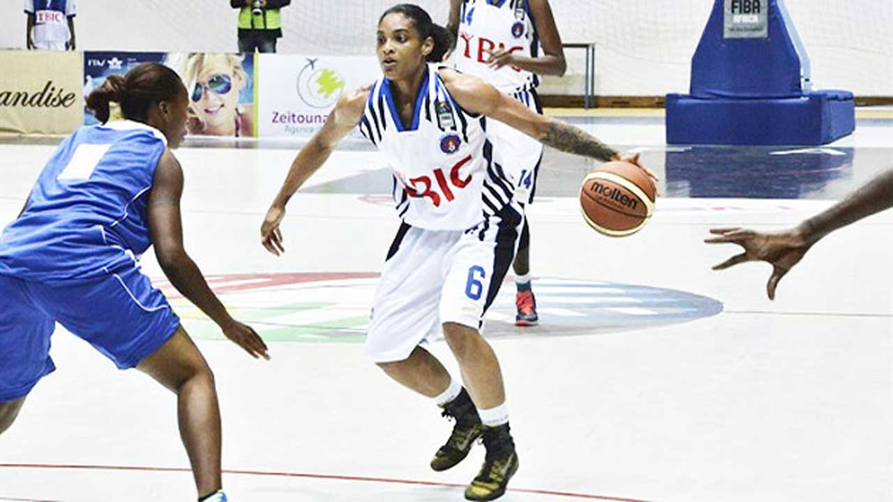 First Bank Women Basket Ball Player in Action