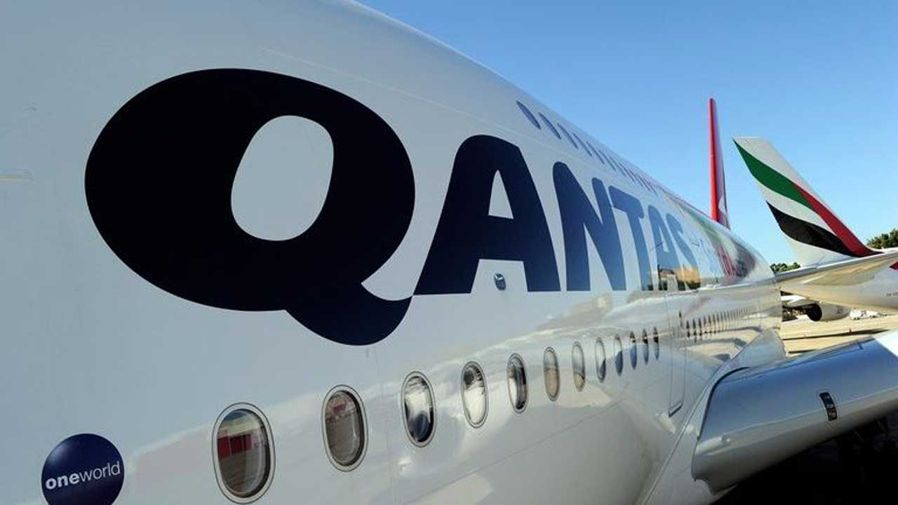 File photo of a Qantas Airways aircraft on the tarmac of Sydney Airport, Australia. (AFP/File - Greg Wood)