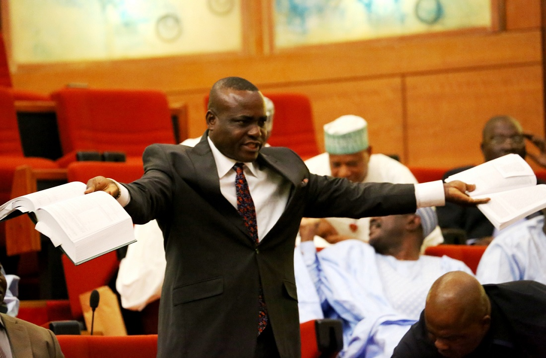 Senior Special Assistant to President Muhammadu Buhari on National Assembly Matters (Senate), Sen. Ita Enang.
