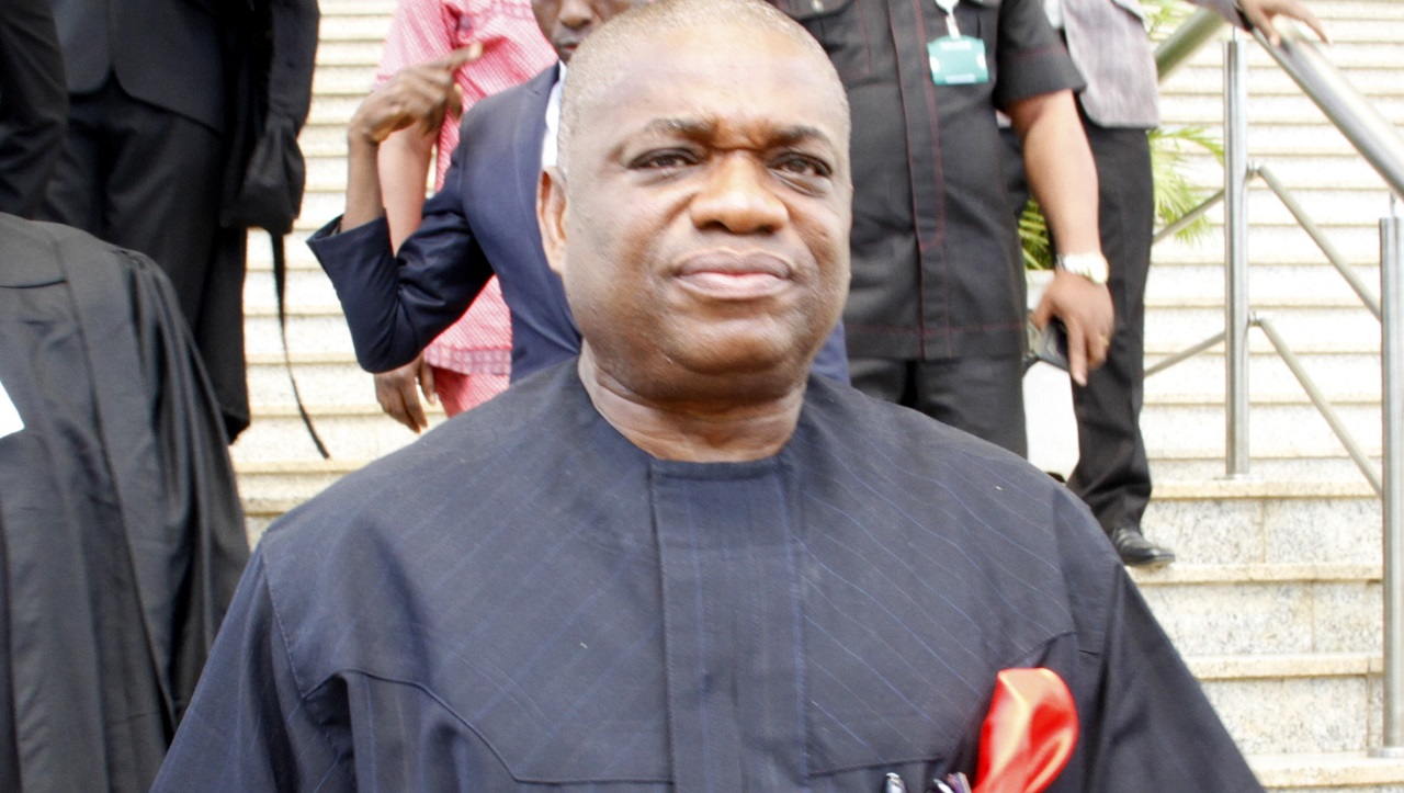 Former governor of Abia State, Orji Uzor Kalu  PHOTO: LADIDI LUCY ELUKPO