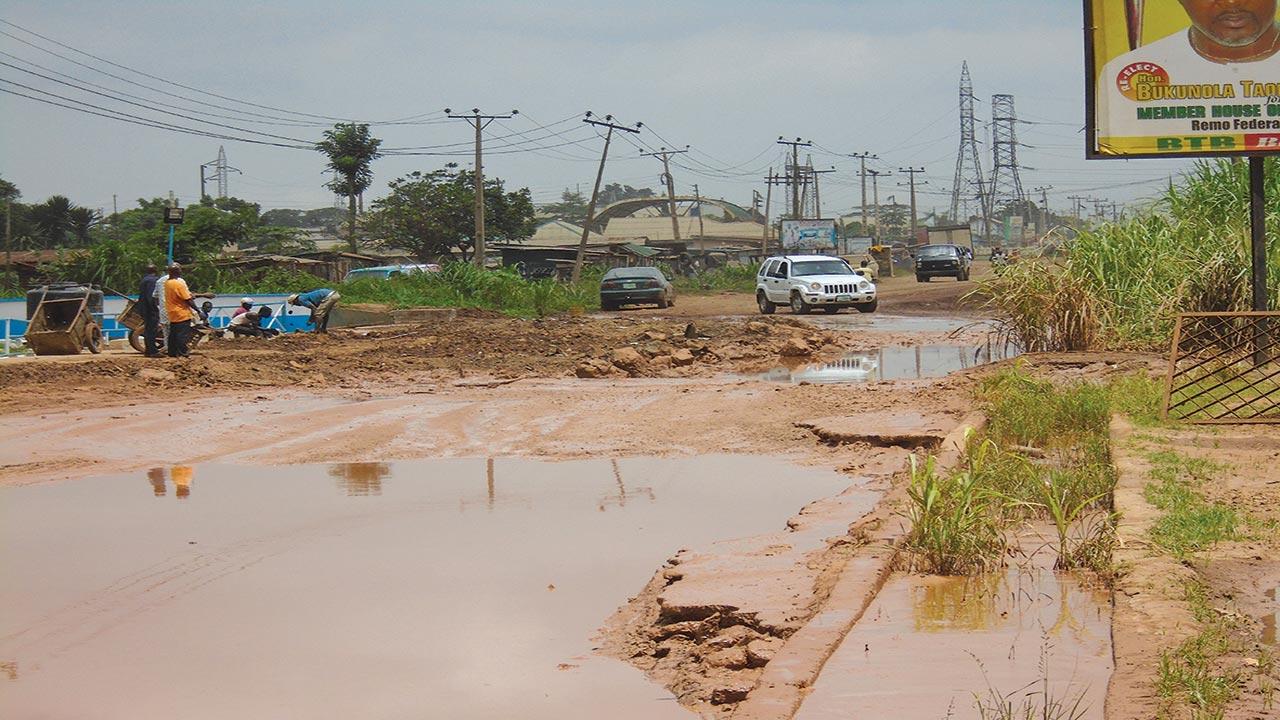 Shagamu-Ogijo-Mosinmi-Ikorodu Road