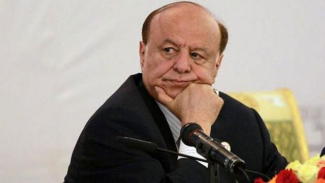 Abedrabbo Mansour Hadi.PHOTO:AFP