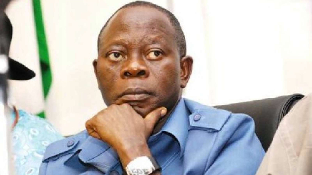 Governor Adams Oshiomhole of Edo State.