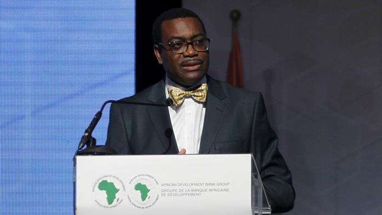 The president of the African Development Bank (AfDB) Akinwumi Adesina of Nigeria