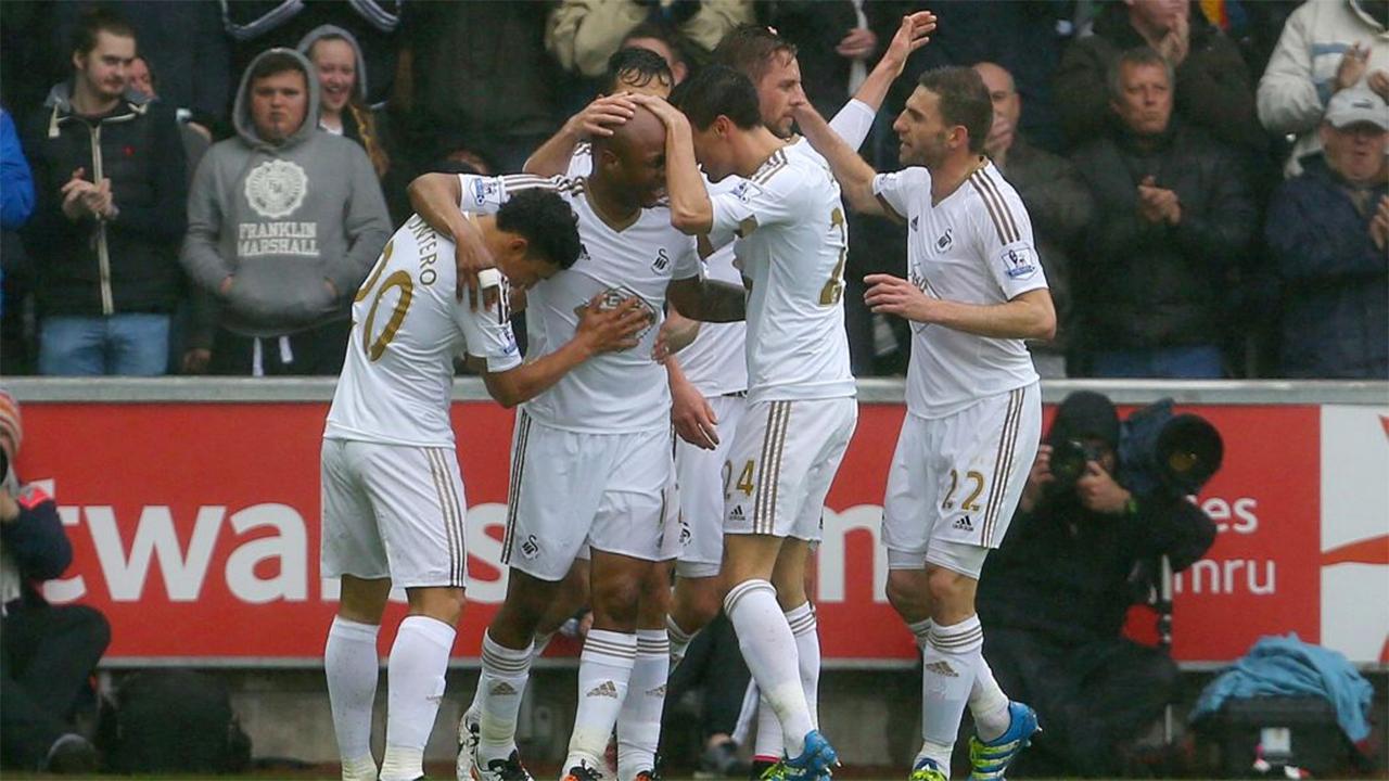 Swansea FC. PHOTO: AFP